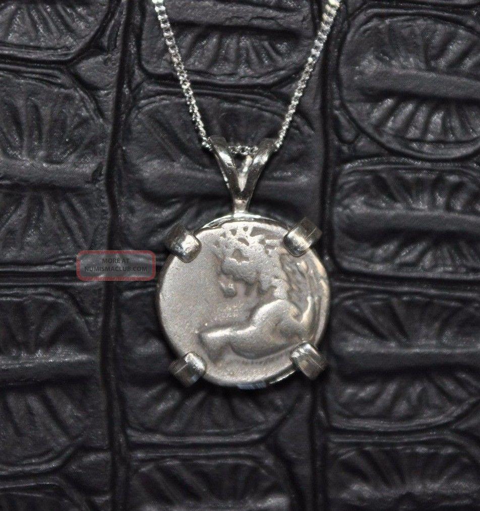 Thrace Chersonesos Authentic Silver Hemidrachm Coin 925