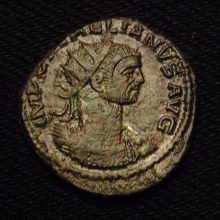 Roman Imperial Emperor Aurelian Billon Antoninianus Rv Restitvt Orbis - Ad 274 - 5 photo