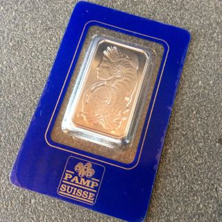 Palladium Bar - Pamp Suisse - 1 Oz. photo