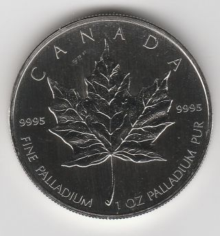 2005 Canada 1 Oz Palladium $50 Maple Leaf (bu), .  9995 Fine - Buyer photo