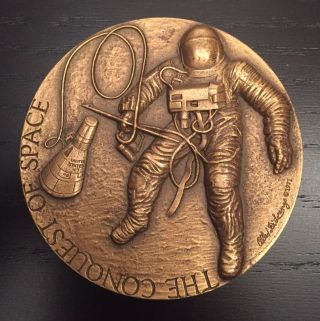 The Conquest Of Space Bronze Medal 1971 photo