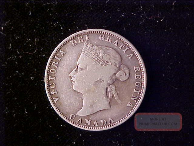 Canada 25 Cents 1874h Coins: Canada photo