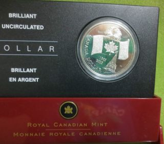 1965 - 2005 Canadian Silver Dollar.  $60 Value Not Graded.