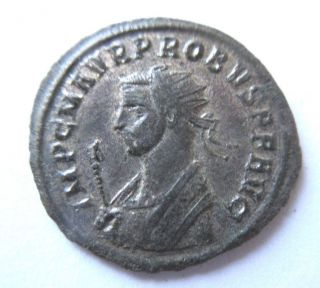 Silversud - Antoninian Of Probus Rv.  Sol In Quadriga Facing photo