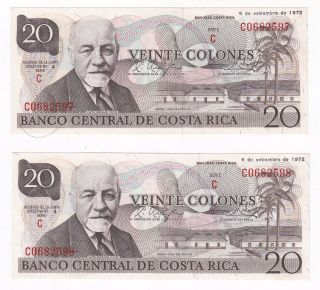 "Costa Rica Uncirculated SPECIMEN 50 Colones /""E/"" crisp"