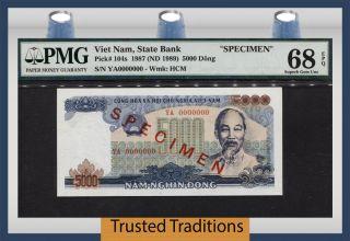 Tt Pk 104s 1987 Viet Nam 5000 Dong