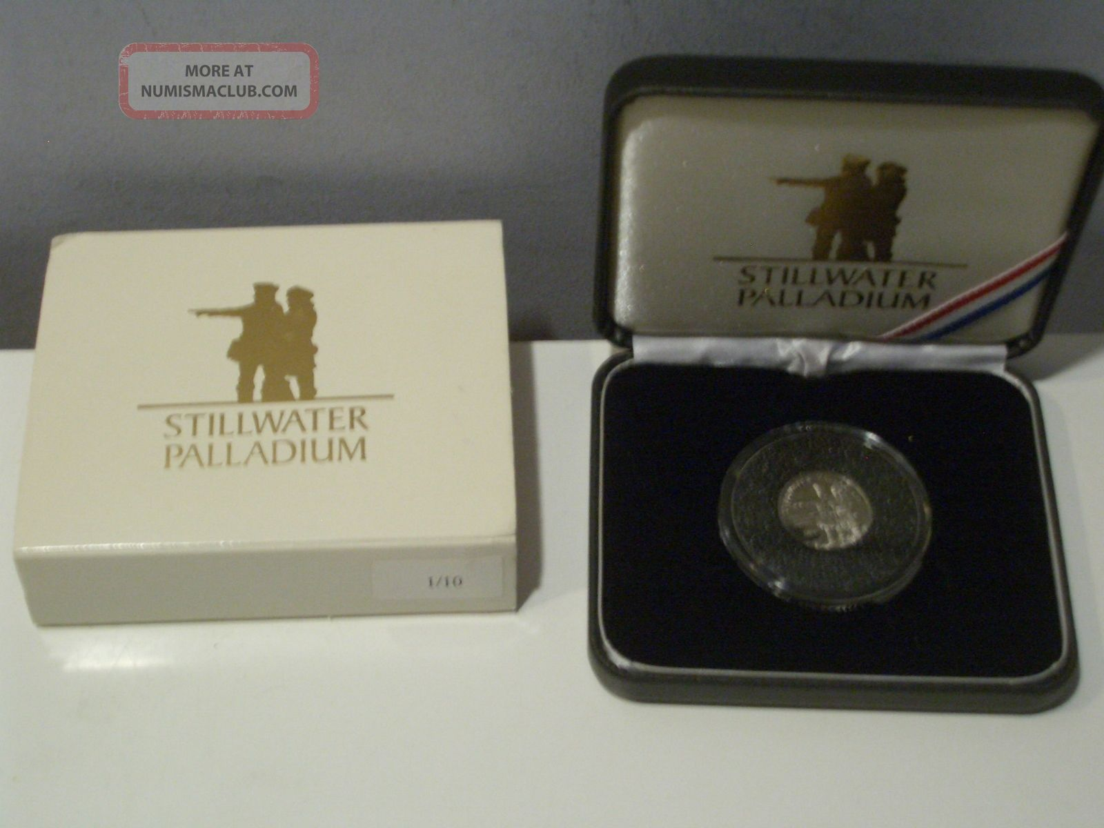 2004 Stillwater Palladium 1/10 Oz.  9995 Fine Lewis & Clark Corps Of Discovery Bullion photo