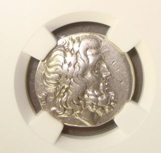 2nd - 1st Cent Bc Thessalian League Ancient Greek Silver Double Victoriatus Ngc Vf photo