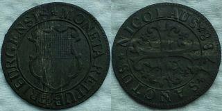 2 X Swiss Cantons 1/2 Batzen (billon) - - 1788 Freiburg,  1789 Neuchatel Collectible photo