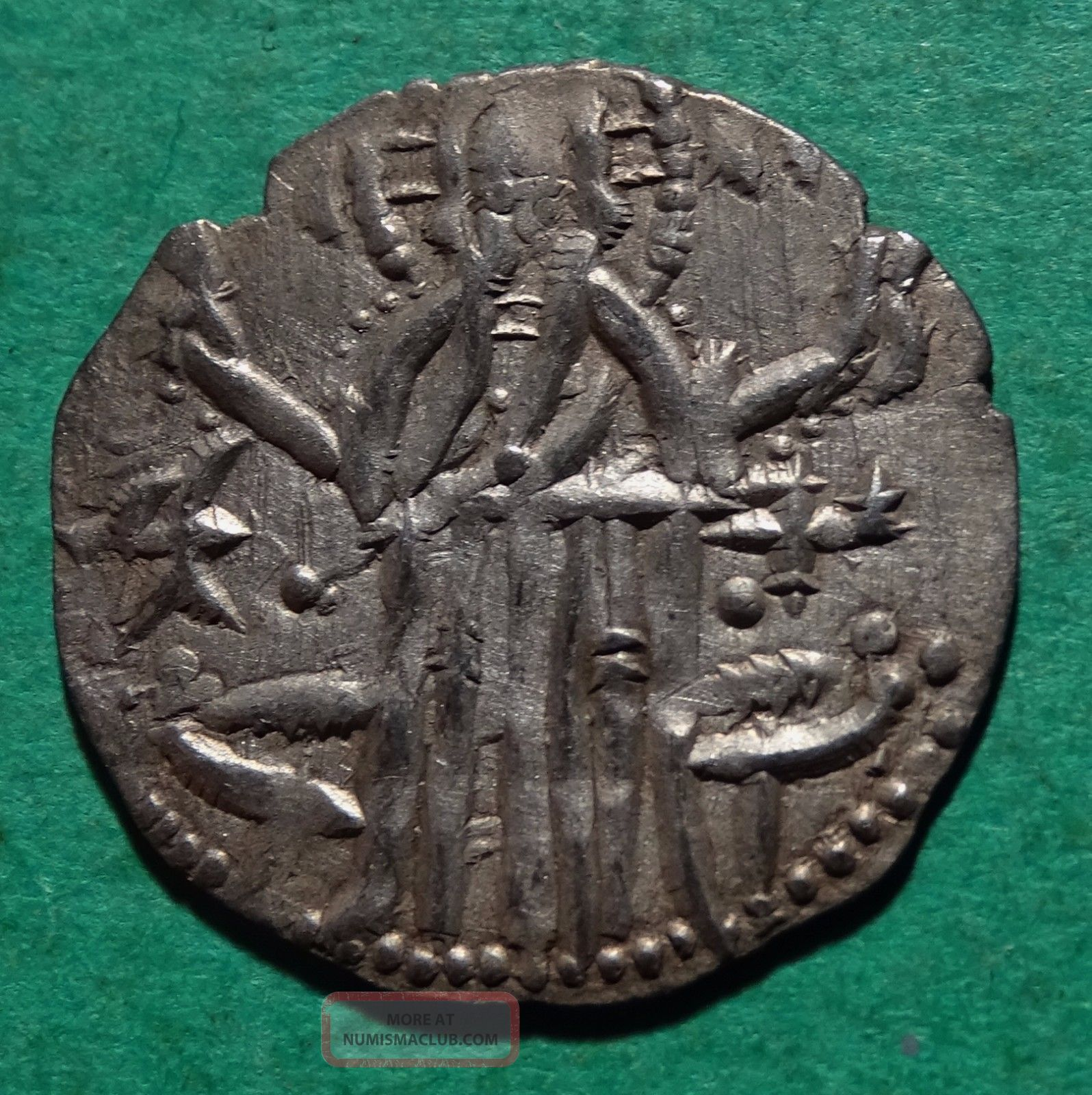 Tater Bulgaria Ivan Alexander And Michael Ar20 Hammered Coin 1355 Ad Coins: Medieval photo