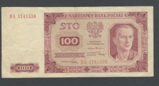 Poland 100 Zlotych P139 Sn Ha - 1141538 photo
