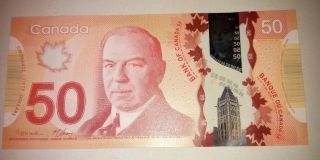 Canada: Banknote - 50 Dollars 2012 Polymer - Unc (46) photo