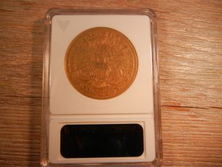 1870 - S $20 Gold Liberty Coin Anacs Vf 30 2963807 photo