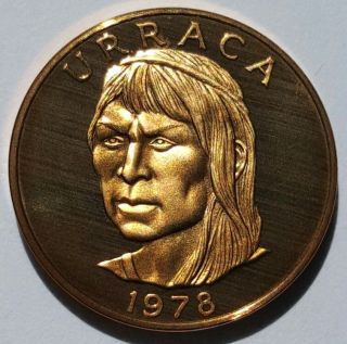 Rare - Uncirculated 1978 Panama 1 Centésimo 75th Anniversary Proof Coin Urraca photo