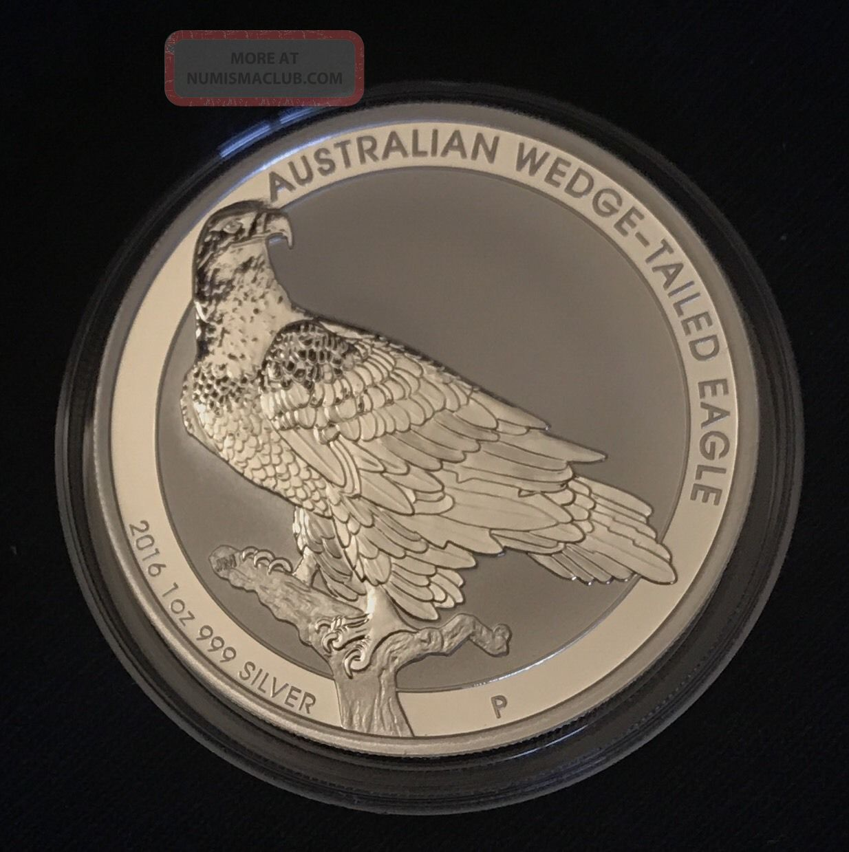 2016 1oz Silver Wedge - Tailed Eagle Silver photo