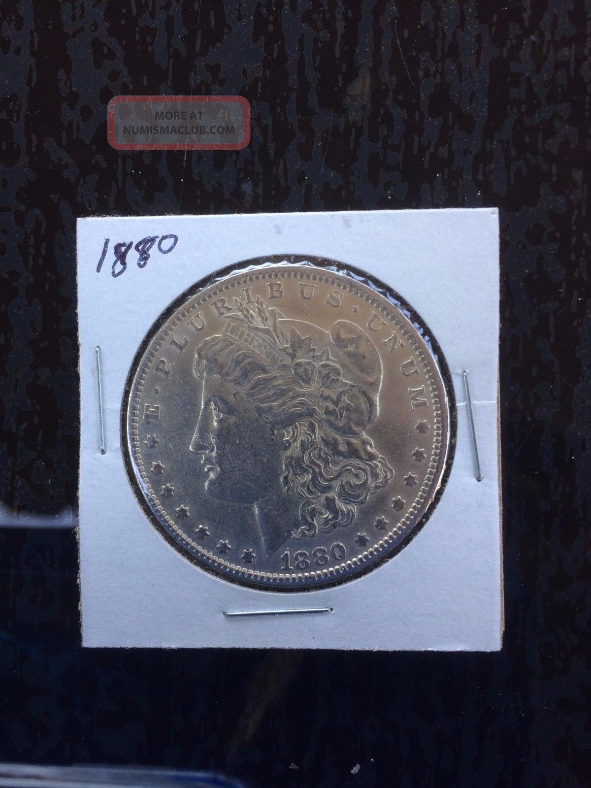 1880 - O Morgan Silver Dollar Dollars photo
