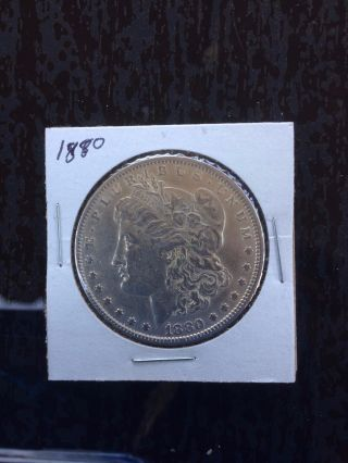 1880 - O Morgan Silver Dollar photo