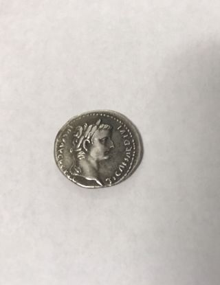 Tiberius_14 - 37 Ad_silver Denarius_tribute Penny Of Bible photo