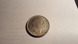 Romania 100 Lei Coin,  1944 Ww2 Era photo