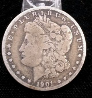 1901 - O $1 Morgan Silver Dollar photo