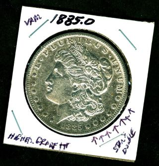 1885 0 Higher Grade,  Orleans 90 Silver Morgan Dollar U.  S.  693376 photo