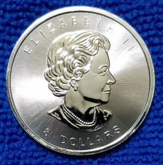 2015 Canadian Bison $8 Coin,  1.  25 Ounce.  9999 Fine Silver photo