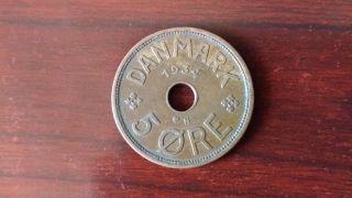 Denmark 1934,  5 Ore photo