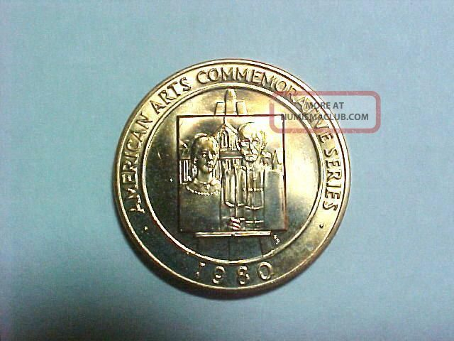Willa Cather American Arts Commemorative coin 1981 gold ...