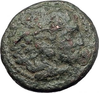 Alexander Iii The Great 336bc Macedonia Ancient Greek Coin Hercules Club I62146 photo