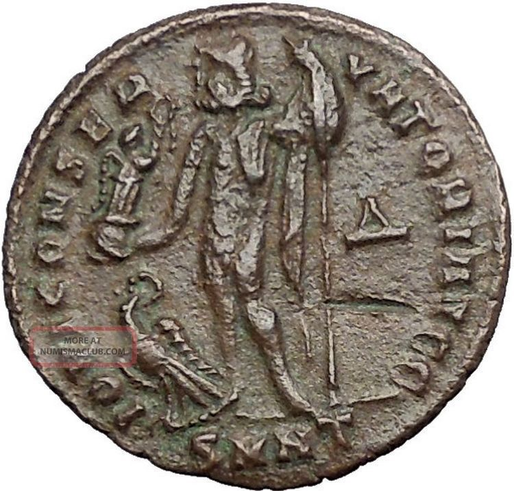 Licinius I Constantine The Great Enemy 313ad Ancient Roman Coin Jupiter I55066 Coins: Ancient photo