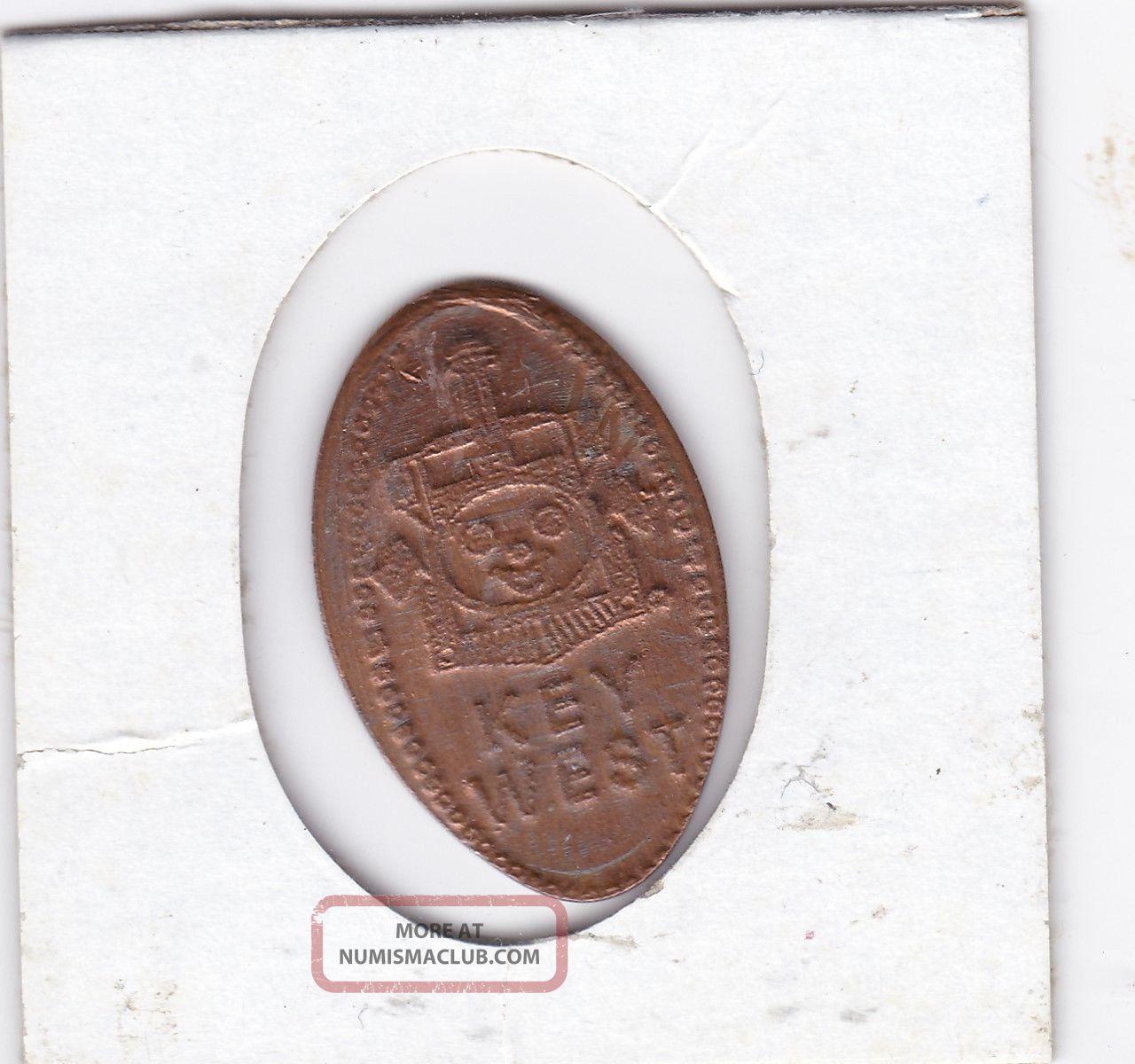 Key West Z/v Ec 396 Exonumia photo