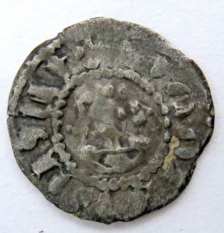 Cilician Armenia,  Hetoum Ii (1289 - 1305),  Հեթում,  Silver Denier,  Armenian Cilicia photo