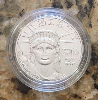 2006 - W American Platinum Eagle 1oz Rare photo