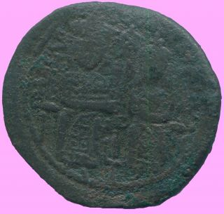 Basil The Macedonian Follis Constantinople 867 - 886 8.  46 G/28.  24 Mm Anc13630.  16 photo