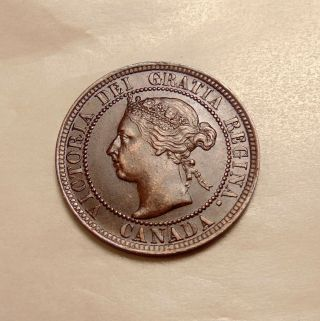 1894 Canada Large Cent - Sharp Looking Coin photo
