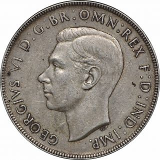 1937 Australia Crown George Vi Ef First Year Of Issue photo