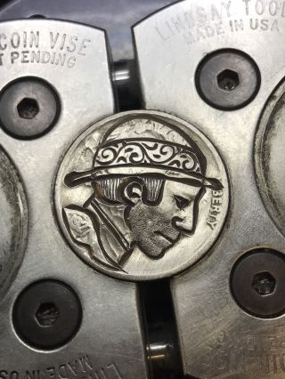 Coin Art Hobo Nickel 67 photo
