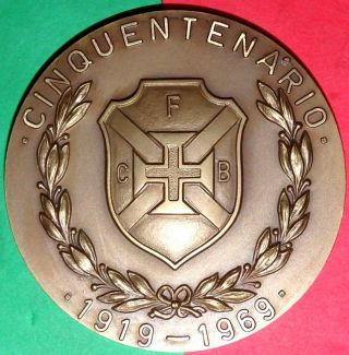 Sports / Football / Soccer / C.  F.  Belenenses / Fifty Years / Bronze Medal photo