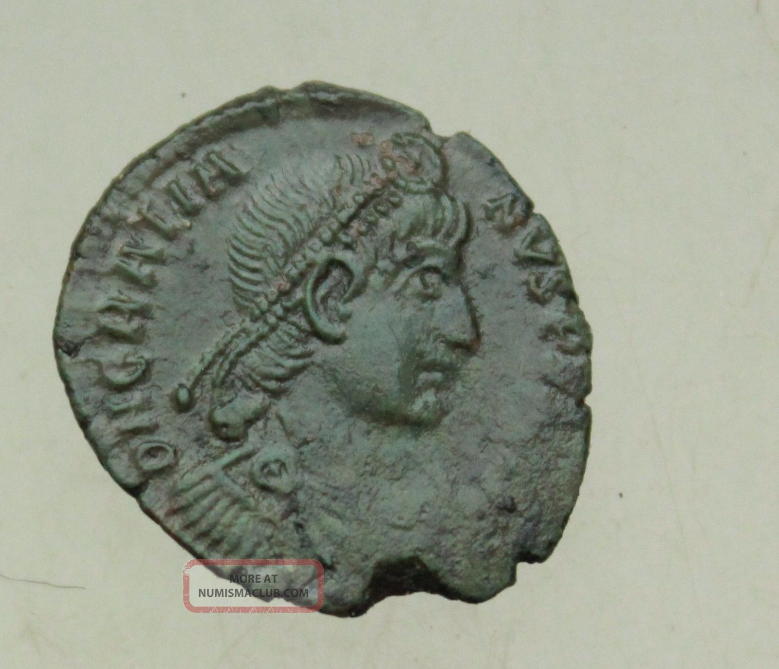 L6 Gratian Ae19mm Follis Rs Securitas Reipublicae Mzst Aquileia Tma Rare Coins: Ancient photo
