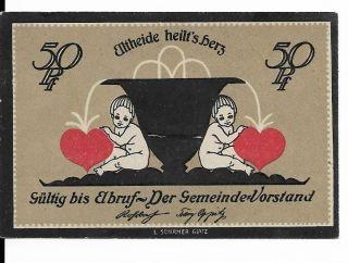 Germany,  Altheide In Schlesien Notgeld Nd (1921) 50 Pfg.