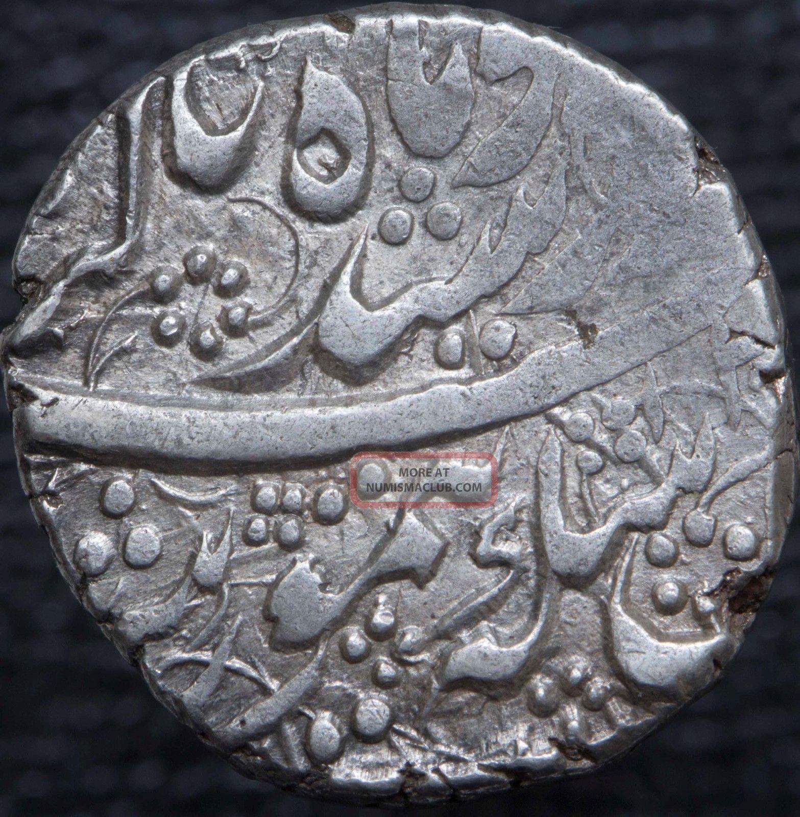 Afghanistan Durrani Taimur Shah 1772 - 1793 Ar Rupee Kabul Ry20 Km 433.  4 Middle East photo