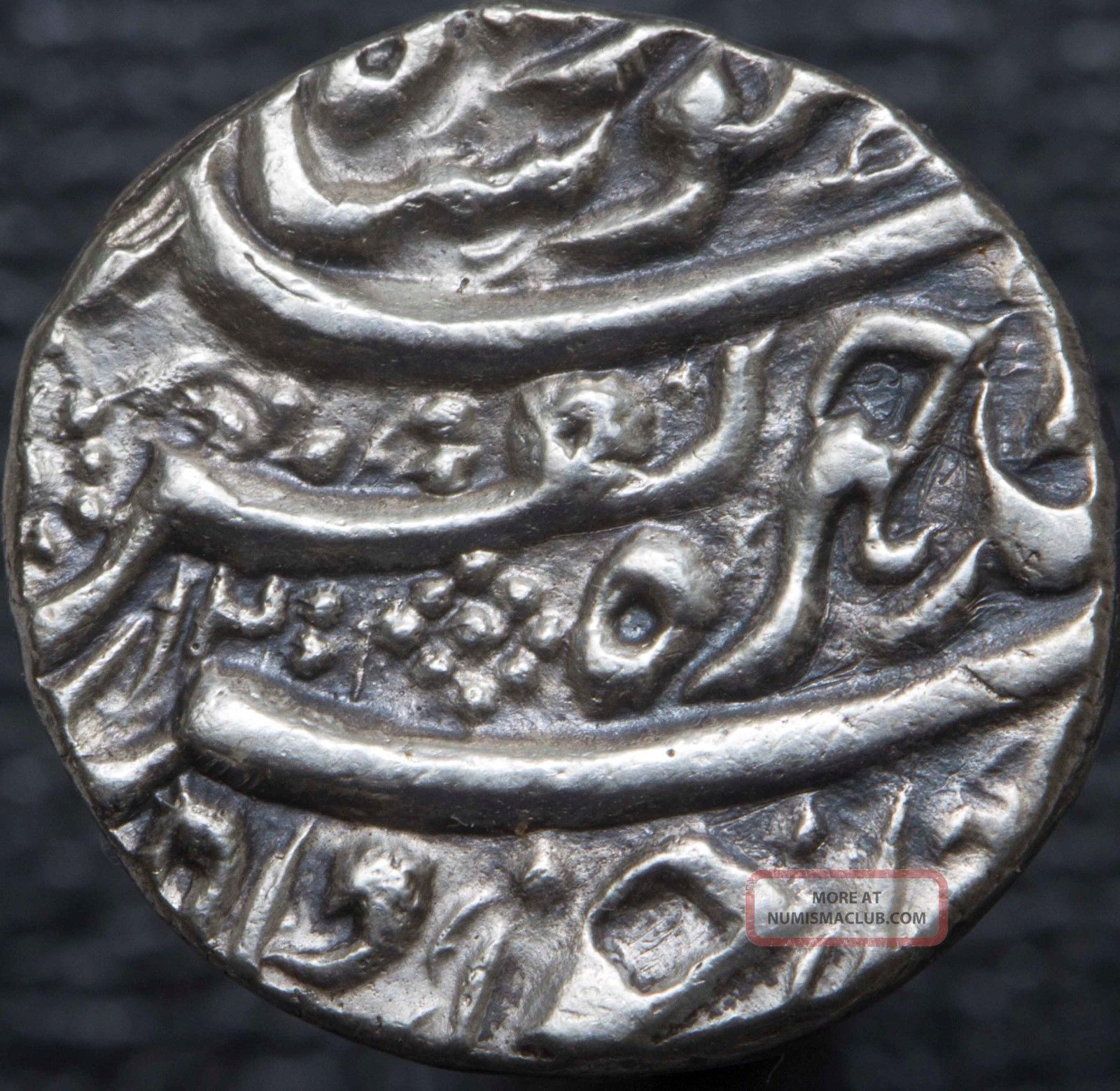 Afghanistan Durrani Taimur Shah 1772 - 1793 Ar Rupee Dera Ah1200/15 Km 328 Indian Middle East photo