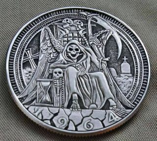Real Hobo Nickel Handcarved