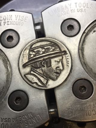 Coin Art Hobo Nickel 75 photo