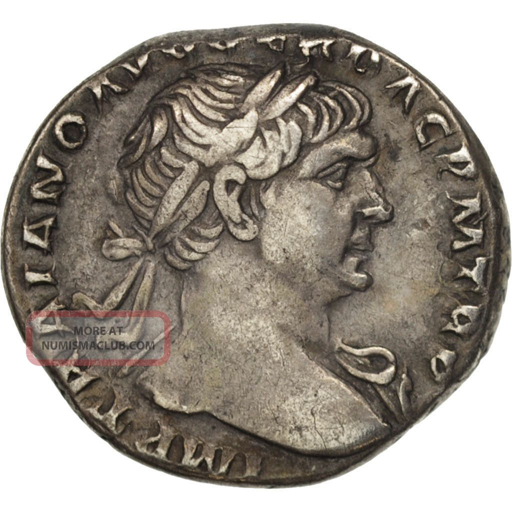 [ 505115] Trajan,  Denarius,  Rome,  Silver,  Ric:128 Coins: Ancient photo