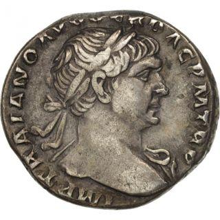 [ 505115] Trajan,  Denarius,  Rome,  Silver,  Ric:128 photo