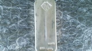 100 Oz Silver Bar photo
