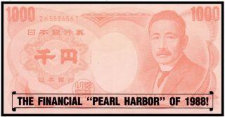 Japan 1000 Yen The Financial