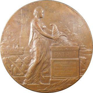 Rare Ca 1920 Us Treasury Secy William G Mcadoo Ae Medal By Morgan & Sinnock photo