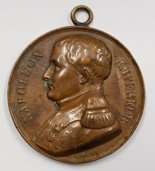 1840 Medal Repatriation Of Napoleon Bonaparte ' S Body Jean François Antoine Bovy photo